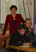 Горкина Марина Валентиновна, учитель английского языка школы № 73, «Заслуженный учитель РФ»,  «Почетный работник общего образования РФ»