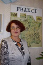 Куцына Римма Музиповна, учитель французского языка школы № 73, «Почетный работник общего образования РФ»