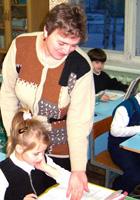 Боярская Антонина Федоровна, учитель школы № 74, «Почетный работник общего образования РФ»